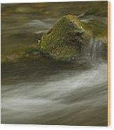 River Rapid 7 Wood Print
