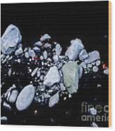 River Rock Wood Print