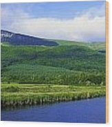 River Roe, Binevenagh, Co Derry Wood Print