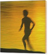 River Runner 1 Wood Print