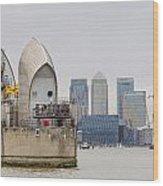 River Thames Landscape Wood Print