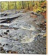 Riverbed Wood Print