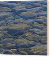 Riverbed Wood Print