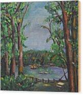 Riverbend Park Wood Print