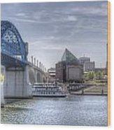 Riverfront Wood Print
