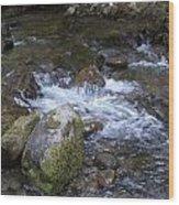Rivers-streams-creeks - 0038 Wood Print