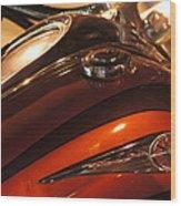 Road Star Wood Print
