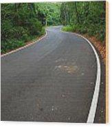 Road To Destiny Wood Print