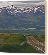 Road To The Sangre De Cristos Wood Print
