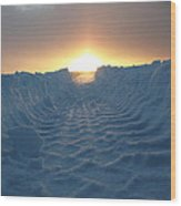 Road To The Sun Iv Wood Print