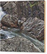Roaring River Falls Wood Print