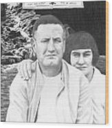 Robert And Theresa Lewis Wood Print