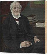 Robert Bunsen, German Chemist Wood Print
