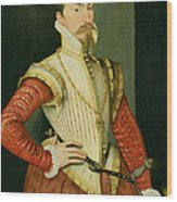 Robert Dudley - 1st Earl Of Leicester Wood Print