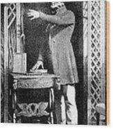 Robert Knox, Scottish Anatomist Wood Print