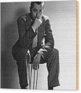 Robert Montgomery, Mgm Portrait Wood Print