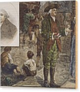 Robert Raikes (1735-1811) Wood Print by Granger