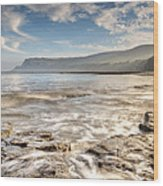 Robin Hood's Bay Breakers Wood Print