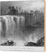 Rochester: Genesee Falls Wood Print