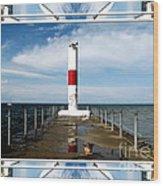 Rochester New York Harbor Lighthouse Wood Print