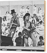 Rock And Roll At Day On The Green 1975 Wood Print