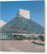 Rock And Roll Hall Of Fame II Wood Print