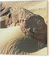 Rock Ascending Wood Print