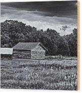 Rock Creek Station Wood Print