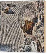 Rock Garden - Hdr Wood Print