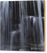 Rock Glen Water Falls Wood Print