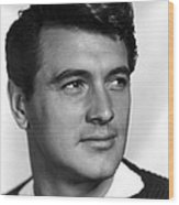 Rock Hudson, Ca. 1950s Wood Print