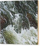 Rock Tumbler Wood Print