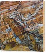 Rock.1244 Wood Print