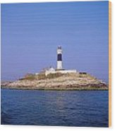 Rockabill, Off Skerries, Co Dublin Wood Print