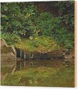Rockin Flora Wood Print