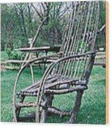 Rockin' In The Bluegrass Wood Print