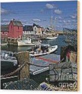 Rockport - Fm000070 Wood Print