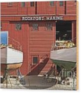 Rockport Marine Wood Print