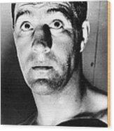 Rocky Marciano, 1950s Wood Print by Everett