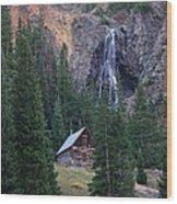 Rocky Mountain Hideaway Wood Print