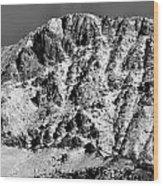 Rocky Mountain Ridges Wood Print