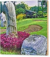 Rocky Repose Wood Print