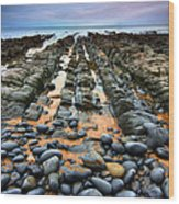 Rocky Road To Nowhere Wood Print by Mark Leader