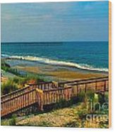 Rodanthe On The Outer Banks Wood Print