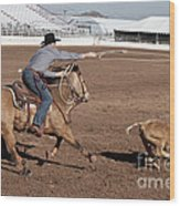 Rodeo 10 Wood Print