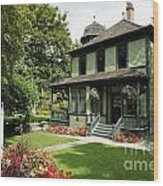 Roedde House Museum Vancouver Canada Wood Print