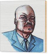 Roger Milla 02 Wood Print