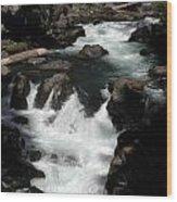 Rogue River Rapids Wood Print