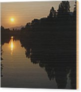 Rogue September Sunrise 2 Wood Print