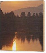 Rogue September Sunrise 3 Wood Print